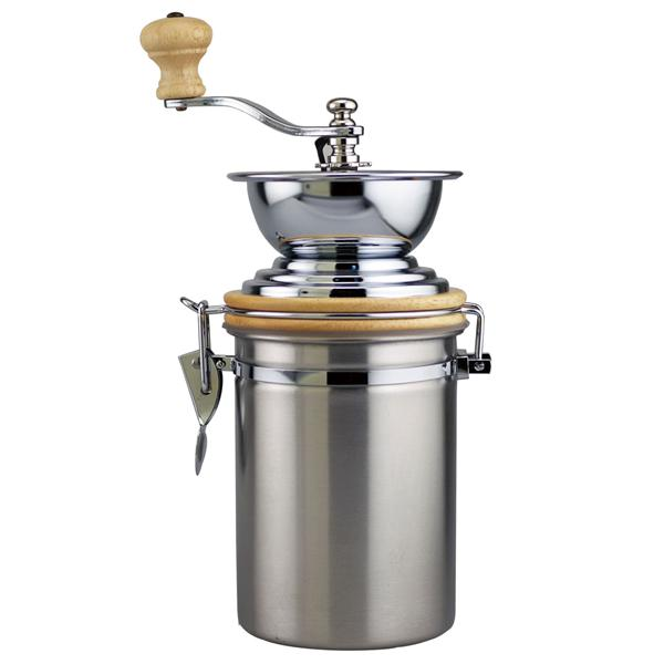 Manual Coffee Grinder ~ Manual coffee grinder with s container oz